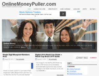 onlinemoneypuller.com screenshot