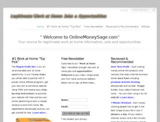 onlinemoneysage.com screenshot