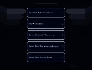 onlinemultiplayergames.us screenshot