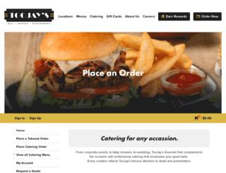 onlineordering.toojays.com screenshot