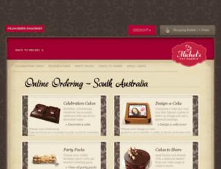 onlineorders.michels.com.au screenshot