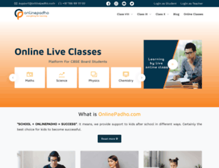 onlinepadho.com screenshot