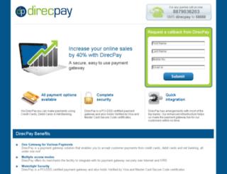 onlinepaymentgateway.direcpay.com screenshot