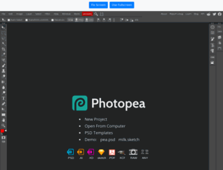 onlinephotoshopeditor.com screenshot