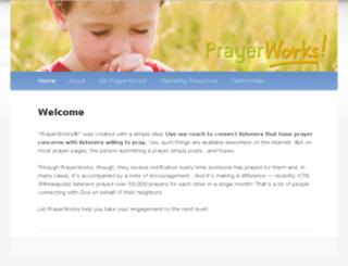 onlineprayerworks.com screenshot