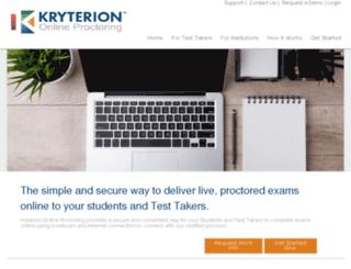 onlineproctoring.com screenshot