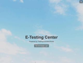 onlinepsychometrictest.com screenshot