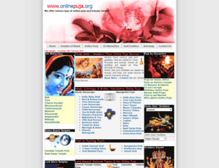 onlinepuja.org screenshot