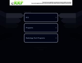 onlineradiologytechnicianschools.com screenshot