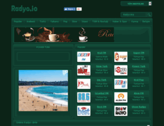 onlineradyo.gen.tr screenshot