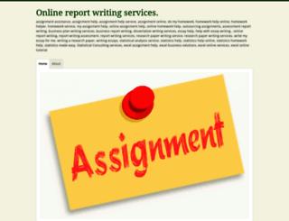 onlinereportwritingservices.wordpress.com screenshot
