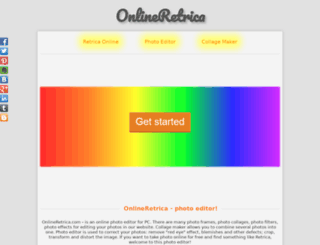 onlineretrica.com screenshot