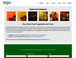 onlinesabjiwala.com screenshot