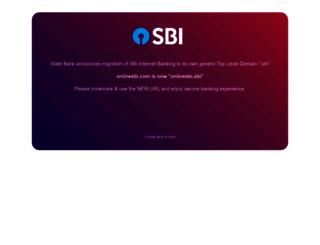 onlinesbi.com screenshot
