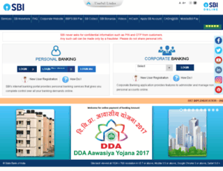 onlinesbm.com screenshot