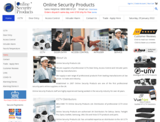 onlinesecurityproducts.co.uk screenshot