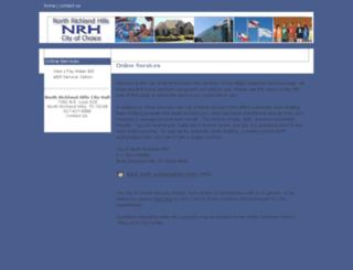 onlineservices.nrhtx.com screenshot