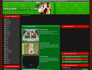 onlinesgamess.com screenshot