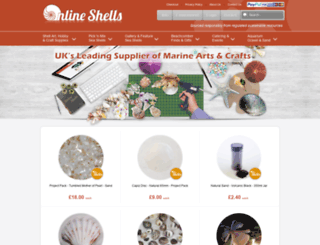 onlineshells.co.uk screenshot
