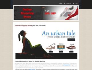 onlineshoeshoppingstore.yolasite.com screenshot