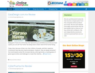 onlineshoppingbuddy.com screenshot