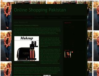 onlineshoppinginpakista-n.blogspot.com screenshot