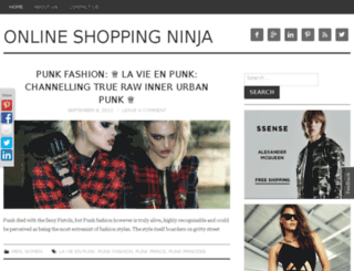 onlineshoppingninja.asia screenshot