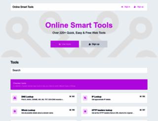 onlinesmarttools.com screenshot