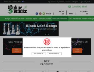 onlinesmoke.itciti.com.au screenshot