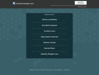 onlinesmslogin.com screenshot