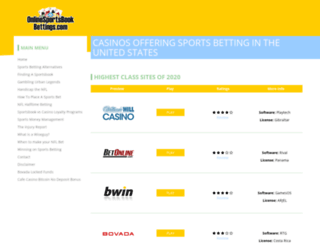 onlinesportsbookbettings.com screenshot