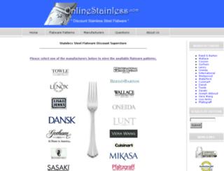 onlinestainless.com screenshot