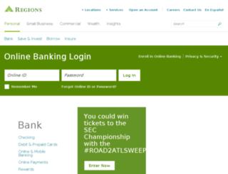 onlinestatements.regions.com screenshot