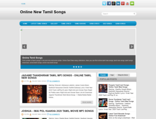 onlinetamilnewsongs.blogspot.in screenshot