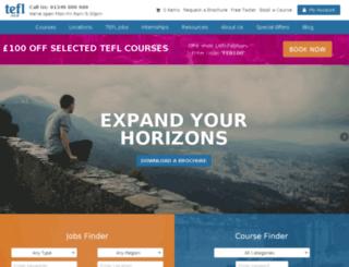 onlineteflcourses.com screenshot