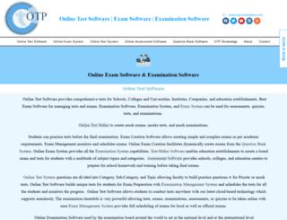 onlinetestplus.com screenshot