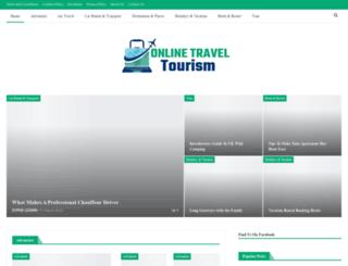 onlinetraveltourism.com screenshot