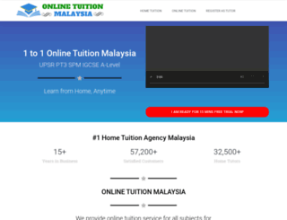 onlinetuitionmalaysia.com screenshot