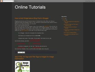 onlinetutorial-bd.blogspot.com screenshot