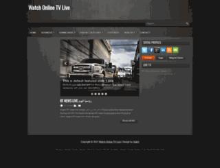 onlinetv-streaming.blogspot.com screenshot