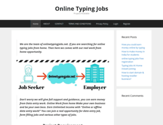 onlinetypingjobs.net screenshot