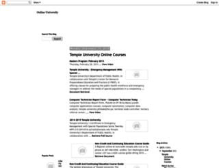 onlineuniversityketnik.blogspot.com screenshot