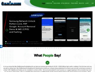 onlineunlockers.com screenshot