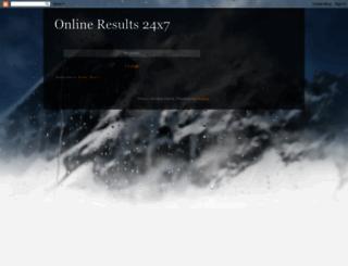onlineupdatesresults.blogspot.com screenshot
