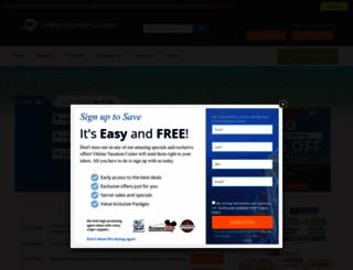 onlinevacationcenter.com screenshot