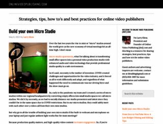 onlinevideopublishing.com screenshot