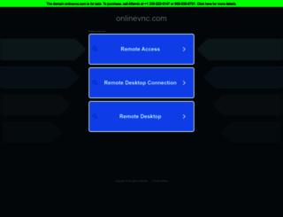 onlinevnc.com screenshot