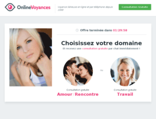 onlinevoyance.fr screenshot