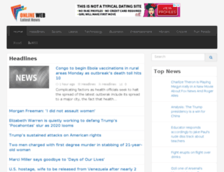 onlinewebcastviewer.com screenshot