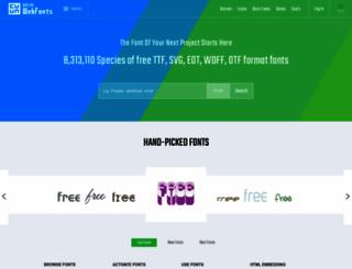 onlinewebfonts.com screenshot